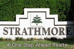 Strathmore community sign